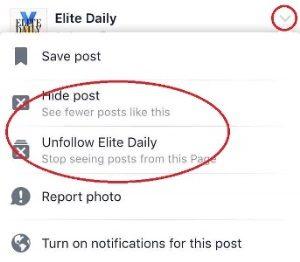 fb2 hide post